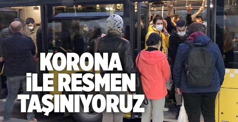 İSTANBUL'DA TOPLU TAŞIMA AYLIK YÜZDE 8.4 ARTTI..
