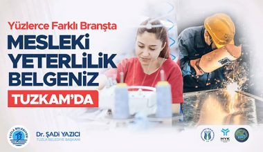 TUZLA'DA YÜZLERCE MESLEKİ KURS..