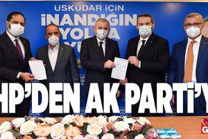 CHP'DEN İSTİFA EDEN MECLİS ÜYELERİ AK PARTİ'YE GEÇTİ..