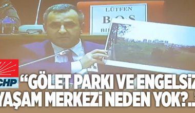 """CHP'Lİ ŞENOL BERK; """"BU RAPOR İYİ YÖNETİMİN GÖSTERGESİ DEĞİL.."""""""