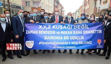 AK PARTİ İSTANBUL İL BAŞKANI KABAKTEPE ÇEKMEKÖY'DE..