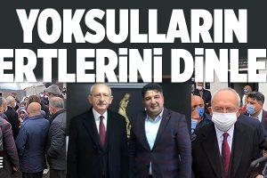 KILIÇDARDOĞLU'NDAN SÜRPRİZ ÇEKMEKÖY ZİYARETİ..