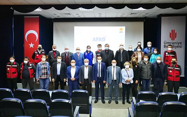 ÜMRANİYE'DE MUHTARLARA AFET PLANLARI EĞİTİMİ..
