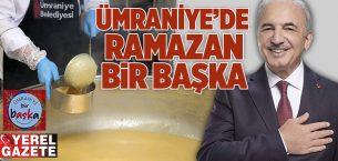 ÖZLENEN İFTAR ÇADIRLARI ÜMRANİYE'DE EVLERE TAŞINIYOR..