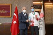 BAŞKAN YILDIRIM'DAN MİLLİ ATLET HALİL YAŞIN'A TEBRİK..