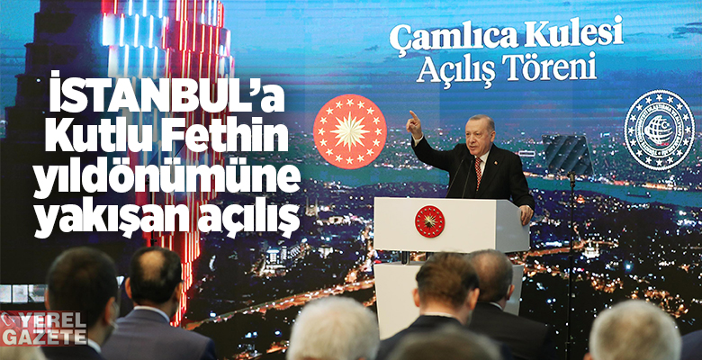 ERDOĞAN, KANALİSTANBUL TEMELİNİN ATILACAĞI TARİHİ DE AÇIKLADI..