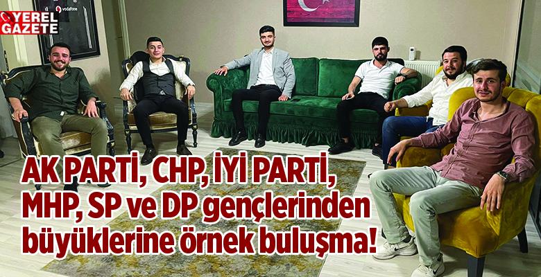GERGİN SİYASET VE SİYASETÇİLERE GENÇLERDEN BAYRAM MESAJI..