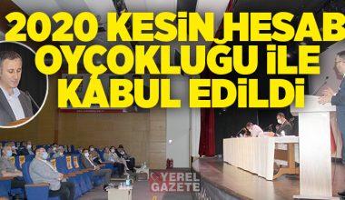 ÇEKMEKÖY BELEDİYESİ'NİN 2020 YILI KESİN BÜTÇESİ OYLANDI..