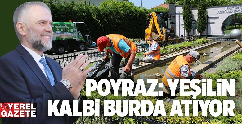 ÇEKMEKÖY'DE PARKLAR, BAHÇELER YAZA HAZIRLANIYOR..