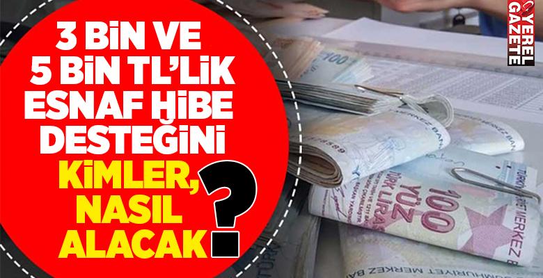 NACE KODLARINA GÖRE HİBE ALACAK ESNAFLAR BELLİ OLDU..