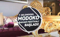 7. GELENEKSEL MODOKO BAHAR FESTİVALİ İNDİRİMLERLE BAŞLADI!