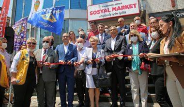 ATAŞEHİR'DE SOSYAL MARKET'İN RESMİ AÇILIŞI YAPILDI..