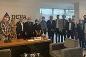 ÇEKMEKÖY'DE CHP'DEN DEVA'YA HAYIRLI OLSUN ZİYARETİ..