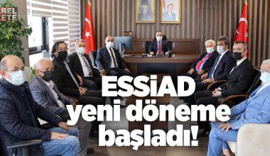 ÜMRANİYE KAYMAKAMI CENGİZ ÜNSAL'A NEZAKET ZİYARETİ..