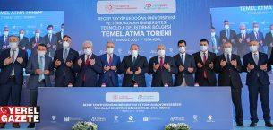 DİJİTALPARK TEKNOKENT'İN TEMELİ ÇEKMEKÖY'DE ATILDI..