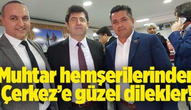 SEVENLERİ, ORHAN ÇERKEZ'İ GÜZEL DİLEKLERİ İLE YALNIZ BIRAKMIYOR..