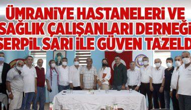 ÜMRANİYE HASTANELERİ DERNEĞİ YOLA DEVAM DEDİ..