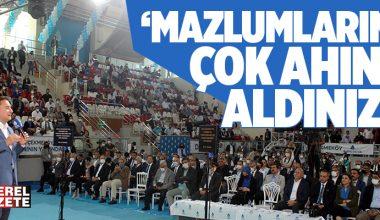 ALİ BABACAN ÇEKMEKÖY KONGRESİNDEN İKTİDARA YÜKLENDİ..