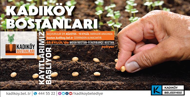 İSTANBUL'UN GÖBEĞİNDE EKOLOJİK TARIM..