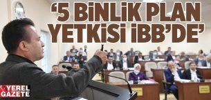 """""""TUZLA BELEDİYESİ ÖNÜNDE 5 BİNLİK PLAN İÇİN TOPLANMAK CEHALETTİR"""""""