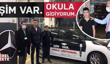 ÜMRANİYE'DE HEM OKU HEM İŞ ÖĞREN, GELECEĞİN İYİ OLSUN..