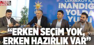 AK PARTİ İLÇE TEŞKİLATLARINDA YEREL BASIN TOPLANTILARI..