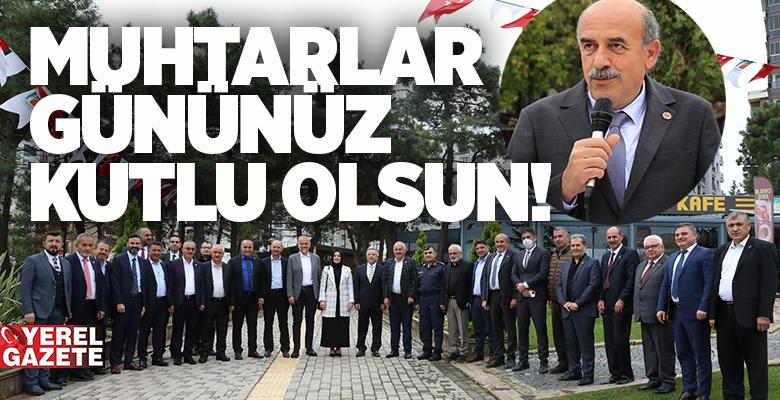 ÇEKMEKÖY MUHTARLAR GÜNÜ'NÜ ÇEŞİTLİ PROGRAMLARLA KUTLADI..