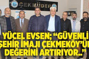 EMNİYET MÜDÜRÜ NAMLI'DAN ÇEKMÜDER'E ZİYARET..