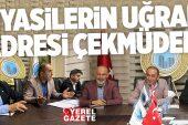 AK PARTİ VE İYİ PARTİ'DEN MÜTEAHHİT VE İŞADAMLARINA ZİYARET..
