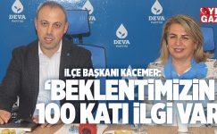 DEVA PARTİSİ ÇEKMEKÖY TEŞKİLATI YEREL BASINLA BULUŞTU..