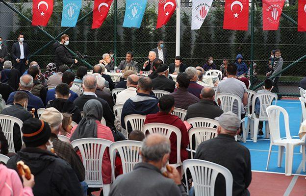 ESENŞEHİR MAHALLESİ'NDE BAŞKANLA 5 ÇAYI BULUŞMASI..