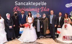 SANCAKTEPE'DE ROMAN ÇİFTLERE TOPLU NİKAH TÖRENİ..