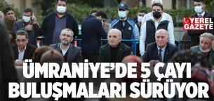 BAŞKAN YILDIRIM, 5 ÇAYINDA ÇAKMAK MAHALLE SAKİNLERİNİ DİNLEDİ..