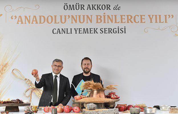 ANADOLU'NUN YİTİRİLMEYE YÜZ TUTAN LEZZETLERİ ÜSKÜDAR'DA..