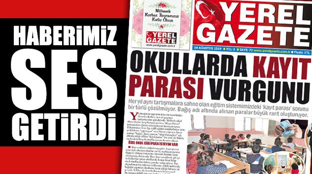 "HAREKETE GEÇEN MEB'DEN BAZI OKULLARA ""KAYIT PARASI"" SORUŞTURMASI.."