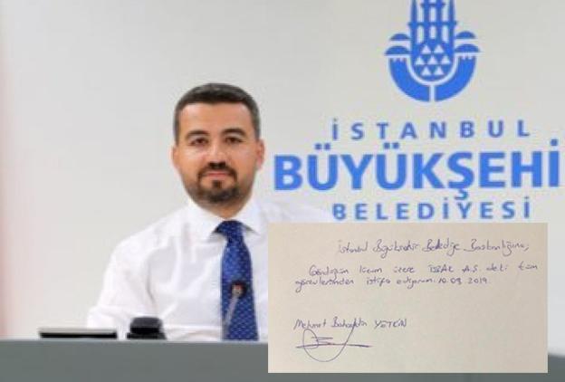 İBB İSBAK'TA TARTIŞMALI ATAMADA İSTİFA VAR..