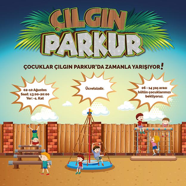 METROGARDEN'DE ÇILGIN PARKUR BAŞLIYOR..