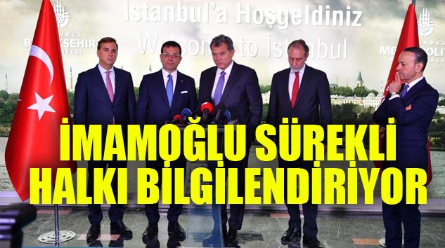TÜSİAD'DAN EKREM İMAMOĞLU'NA TEBRİK ZİYARETİ..
