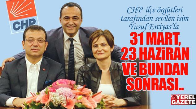 """ERCİYAS: """"İSTANBUL BAŞARISI, TÜRKİYE'DE ÖZLENEN DEĞİŞİM FİTİLİNİ ATEŞLEMİŞTİR.."""""""